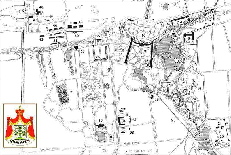 Дворцы и парки Ораниенбаума